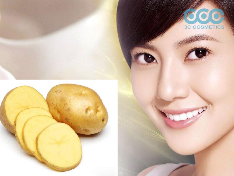 Trị thâm mụn bằng khoai tây có tốt hay không?