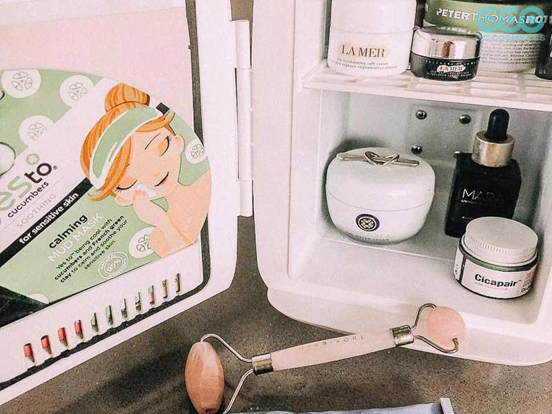bảo quản mỹ phẩm trong tủ lạnh