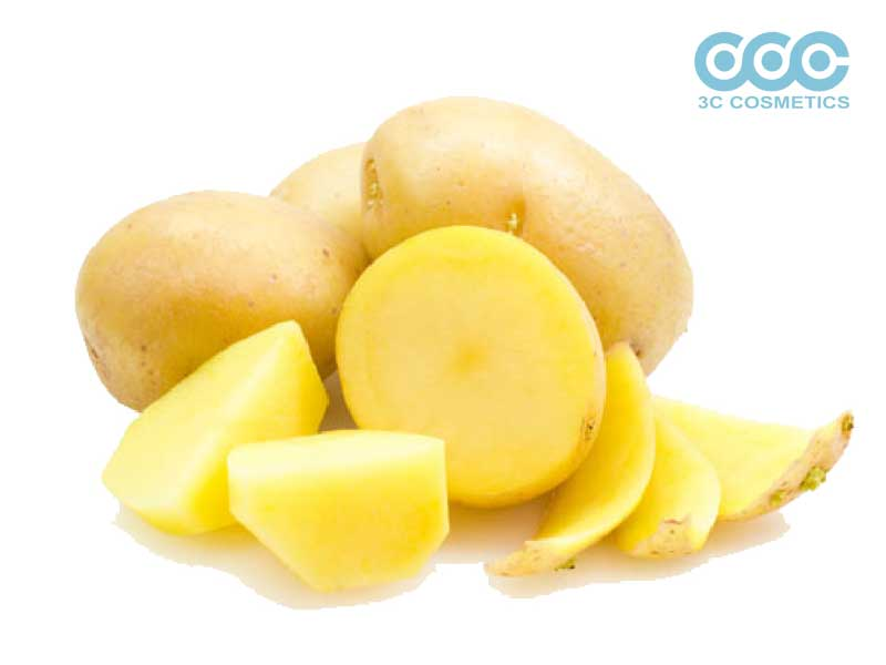 khoai tây cũng giúp xóa tan vùng thâm ở mắt
