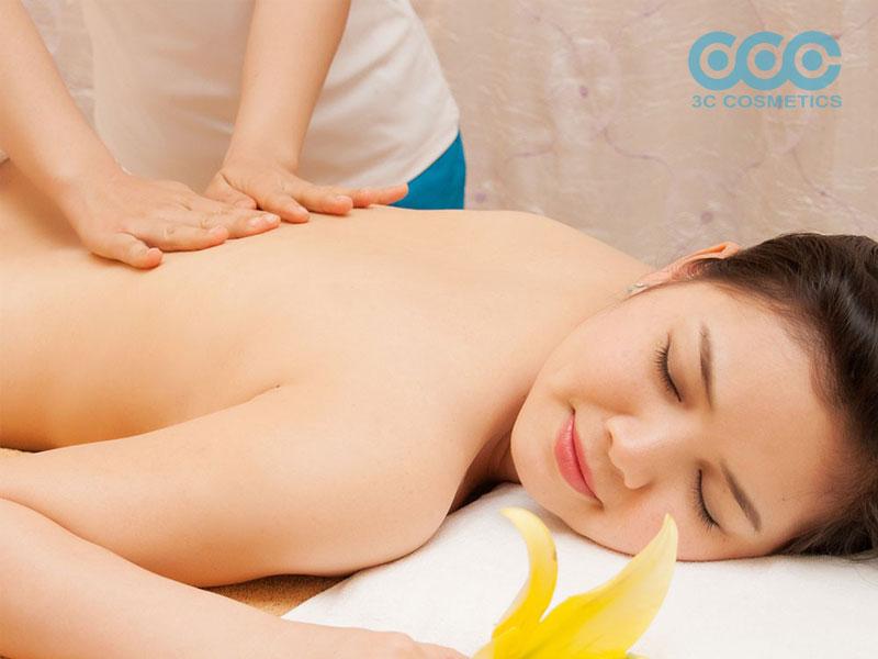 Massage chanh và sữa tươi không đường