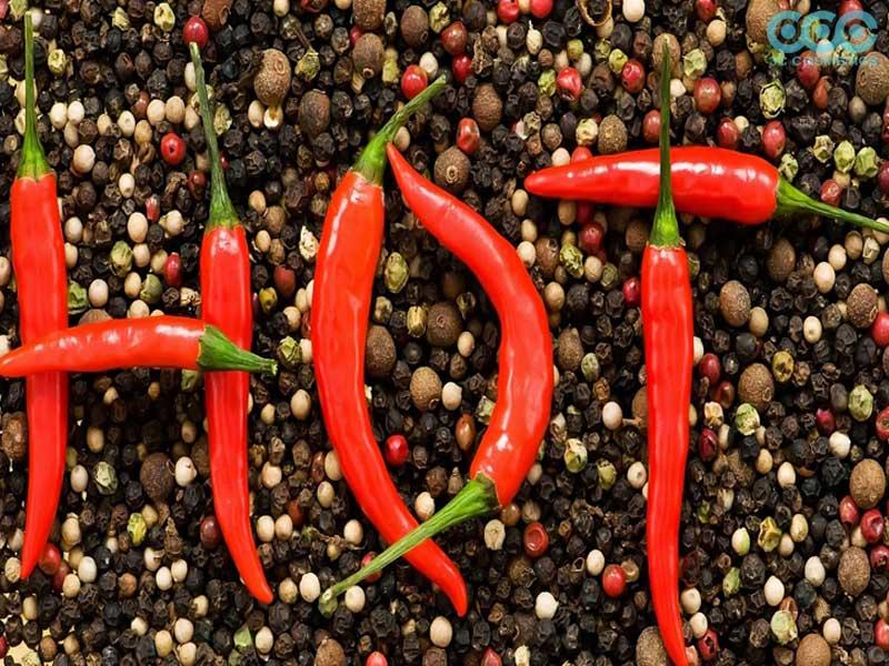thực phẩm cay nóng sẽ không tốt cho làn da mụn