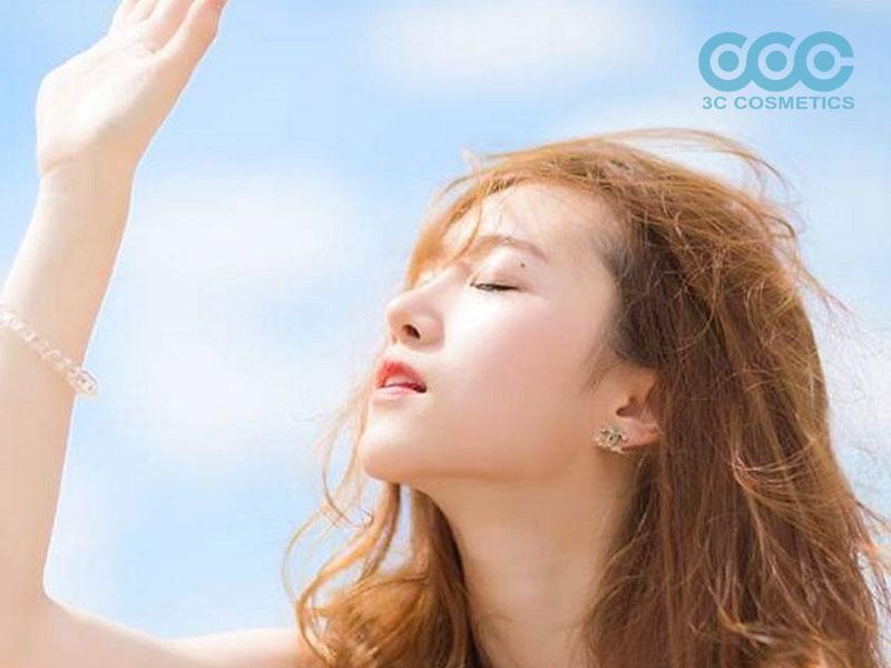 tác hại của ánh nắng mặt trời đối với da