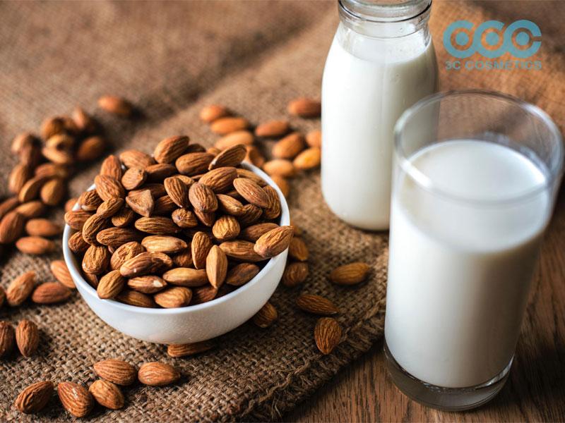 sữa hạnh nhân giúp vóc dáng thon gọn