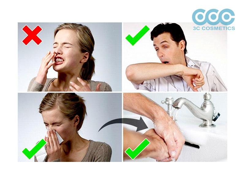 Cách sử dụng nước rửa tay sát khuẩn để phòng ngừa virus corona