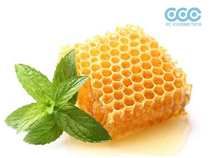chăm sóc da bằng tinh dầu bạc hà và mật ong