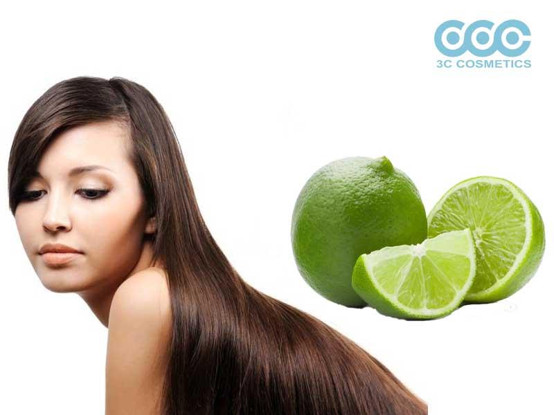 Cách trị tóc dầu bết dính với nước chanh