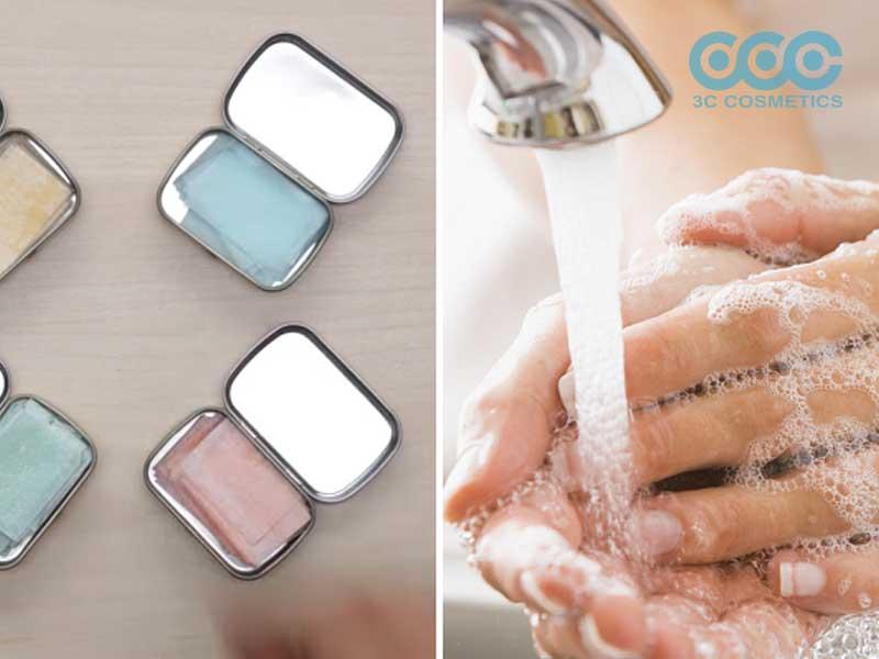 Cách làm xà phòng nước rửa tay giấy tại nhà