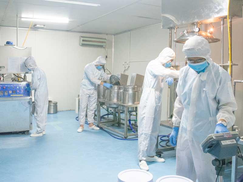 Nhà máy mỹ phẩm 3C
