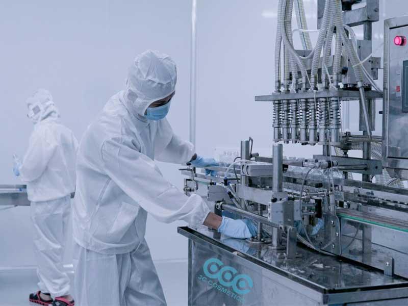 Nhà máy sản xuất gia công mỹ phẩm