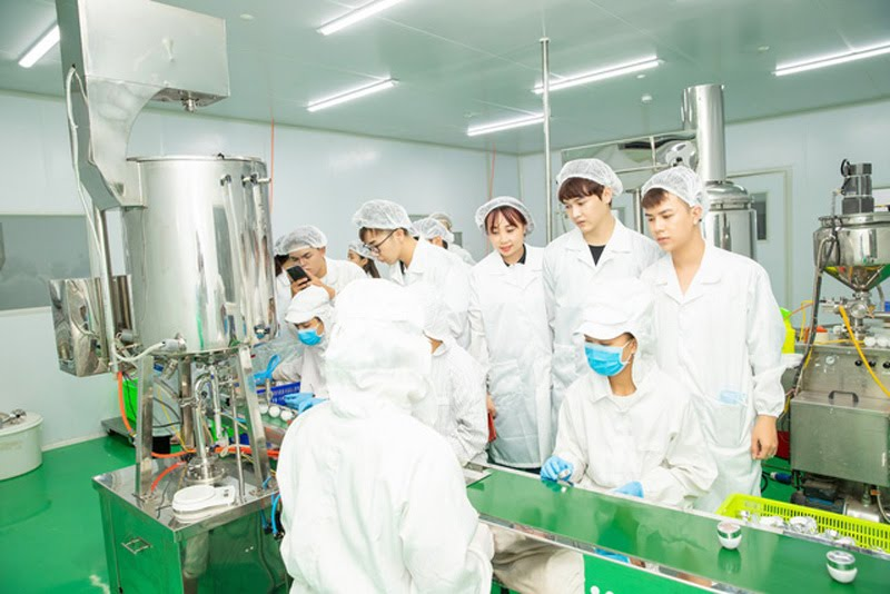 Quy trình sản xuất mỹ phẩm tại 3c